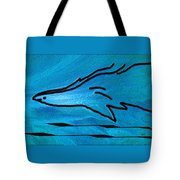 Deep Blue Tote Bag by Ben and Raisa Gertsberg