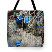 Deep Blue Discs Tote Bag