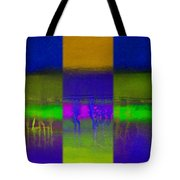 Deep Blue Landscape Tote Bag