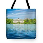 Deep Blue Salzburg Tote Bag