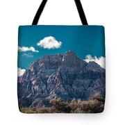Deep Blue Sky Canyon Tote Bag