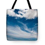 Deep Blue Sky Tote Bag