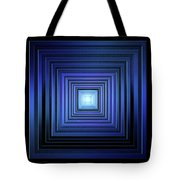 Deep Blue Solstice Tote Bag