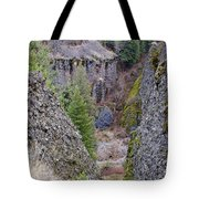 Deep Creek Gorge Tote Bag
