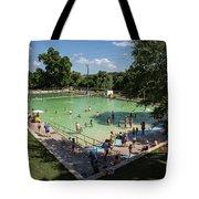 Deep Eddy Pool Is A Family Friendly, Family Fun, Public Swimming Pool In Austin, Texas Tote Bag