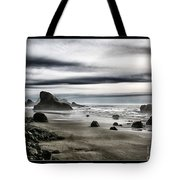 Deep Evening At The Beach Tote Bag