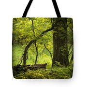 Deep Forest Scenic Tote Bag