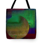 Deep Geometry Tote Bag