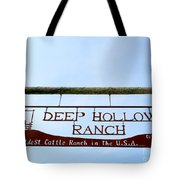 Deep Hollow Ranch Tote Bag