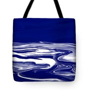 Deep In Blue Tote Bag