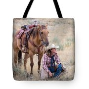 Deep In Thought Tote Bag