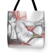 Deep In Thoughts Tote Bag
