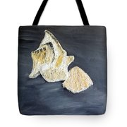 Deep Ocean Seashells Tote Bag