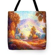 Radiant Peace, Colors Of Fall Tote Bag