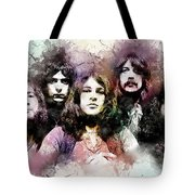 Deep Purple.rock Stars Tote Bag