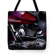 Deep Red Harley Tote Bag