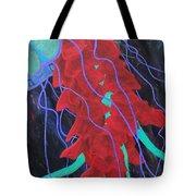 Deep Sea Jelly Tote Bag