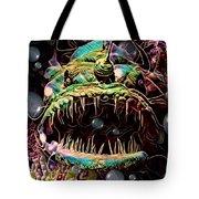 Deep Sea Monster Fish Tote Bag