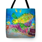 Deep Sea Treasures Tote Bag