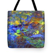 Deep Space Abstract Art Tote Bag
