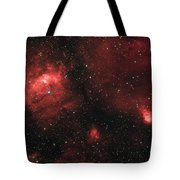 Deep Space Bubble Nebula Ngc 7635 In Constellation Cassiopeia Tote Bag
