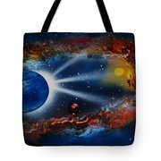 Deep Space Cavern Tote Bag