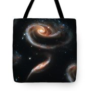 Deep Space Galaxy Tote Bag