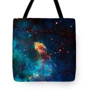 Deep Space Smoke Tote Bag