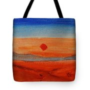 Deep Sunset Tote Bag