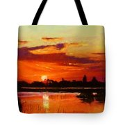 Deep Sunset Tote Bag