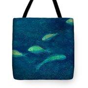 Deep Swim Tote Bag