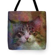 Deep Thoughts - Square Version Tote Bag