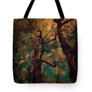 Deep Trees Tote Bag