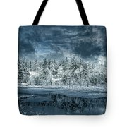 Deep Winter Tote Bag