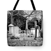 Deep Within Evergreen Cemetery Tote Bag