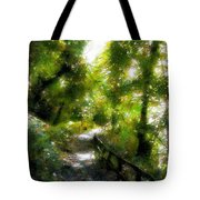 Deeper Into The Greenwood Tote Bag