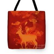 Deer Art Evening Tote Bag