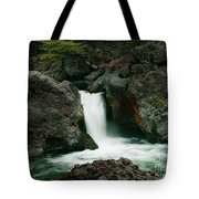 Deer Creek Falls Tote Bag