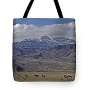 Deer Elk And Jim Mountain-signed Tote Bag
