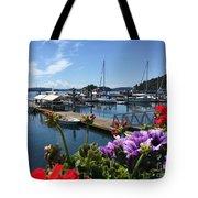 Deer Harbor By Day Tote Bag