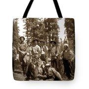 Deer Hunters  With Rifles Circa 1917 Tote Bag