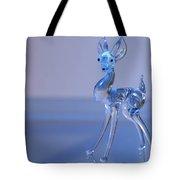 Deer Made Of Glass Tote Bag