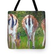 Deer Moon Tote Bag