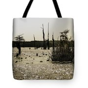 Deer Point Lake At Dusk Tote Bag