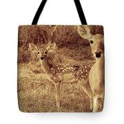 Deer Sepia V3 Tote Bag