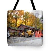 Deer Tractor  Tote Bag