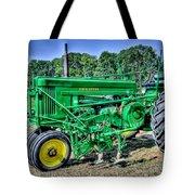 Deere Old Tractor Tote Bag