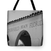 Deerfield Beach Florida Tote Bag