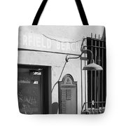 Deerfield Beach Train Station Tote Bag