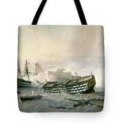 Defence Of The Havana Promontory  Tote Bag
